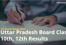 UP Board Result 2019 Uttar Pradesh Board Class 10th, 12th Results