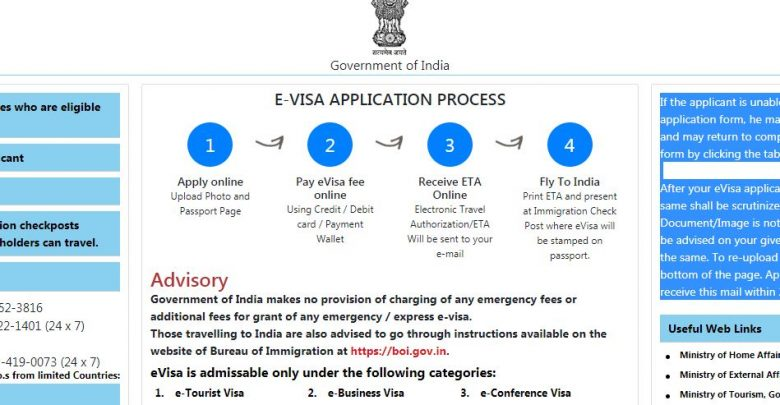 e visa application guide