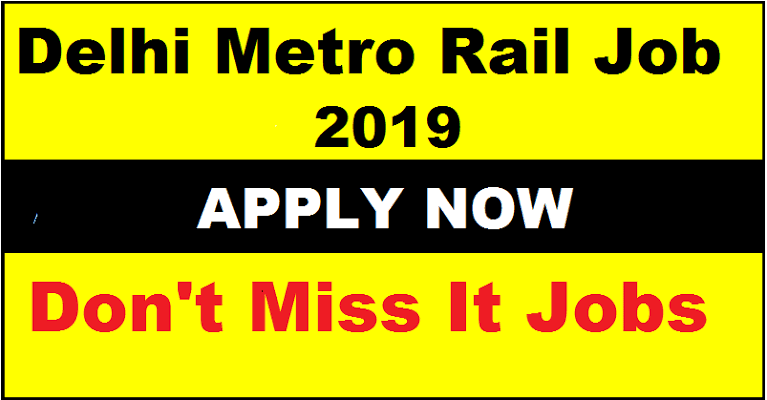 Delhi Metro Recruitment