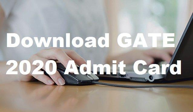 GATE 2020 Admit Card