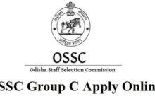 OSSC Group C Online Form
