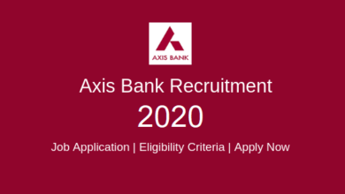 Axis Bank Managers Recruitment