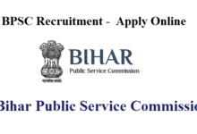 Bihar PSC 553 APO Recruitment 2020