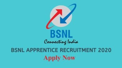 bsnl apprentice recruitment 2020