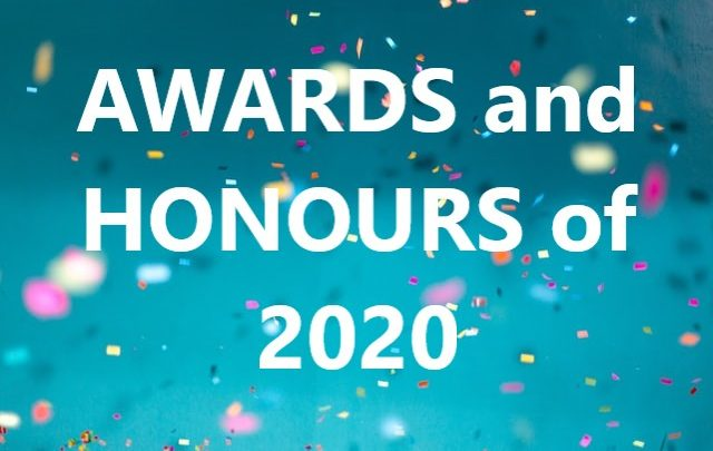 Awards & Honours 2020