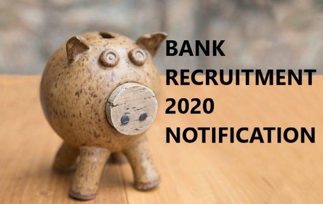 BANK RECRUITMENT