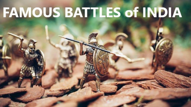 Battles fought in India