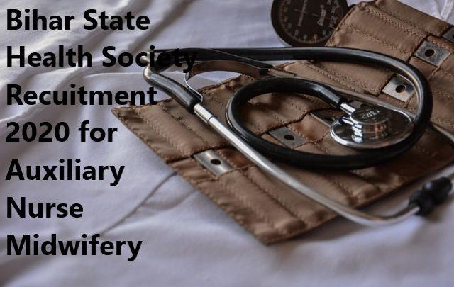 Bihar Health Society Recruitment 2020