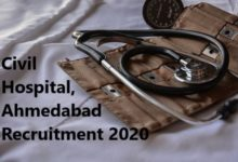 Civil Hospital, Recruitment 2020
