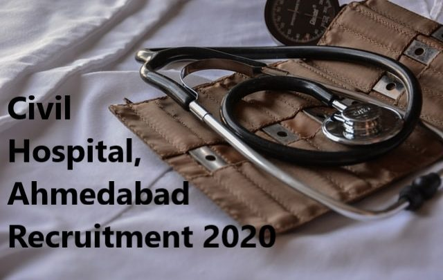 Civil Hospital, Recruitment 2020