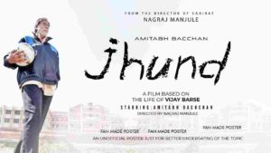 Jhund , Amitabh bachan