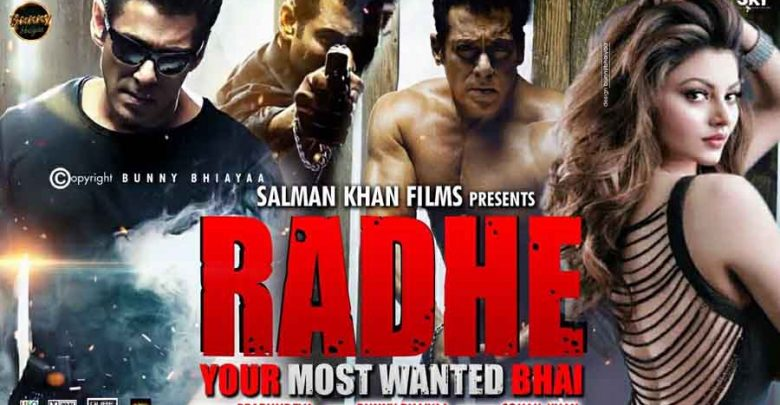 Radhe latest movie