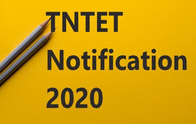 TNTET Notification 2020