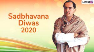 Sadbhavana Diwas