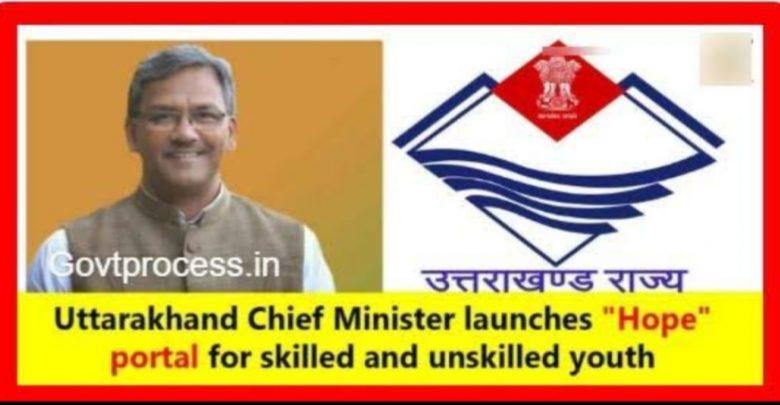 HOPE Uttarakhand Recruitment 2020