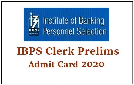ibps clerk x admit card 2020