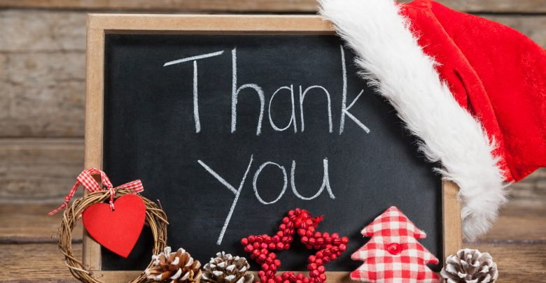 Thank you Messages for Christmas