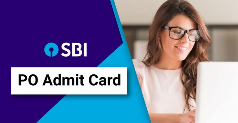sbi po admit card 2020